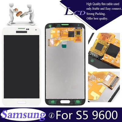 For Samsung Galaxy S5 G900F LCD Touch Screen Display Digitzer +Battery+Tool