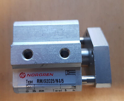 Norgren 25mm Bore 5mm Stroke Double Acting Pneumatic Cylinder RM/92025/N4/5