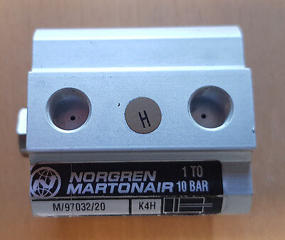 Norgren 32mm Bore 20mm Stroke Double Acting Pneumatic Cylinder  M/97032/20