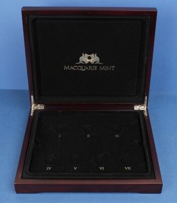 Deluxe Wooden Coin Case. Excellent condition.