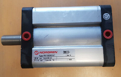 Norgren 80mm Bore 80mm Stroke Double Acting Pneumatic Cylinder RM/192080/M/80
