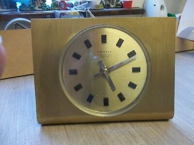 vintage Battery Operated Kienzle Design Clock Not working Spares or repairs