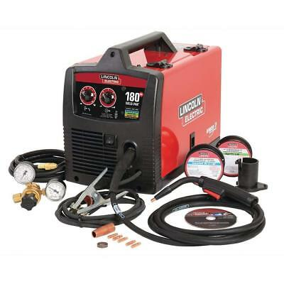 Lincoln Electric 180 Amp Weld-Pak 180 HD MIG Wire Feed Welder w/ Magnum 100L Gun