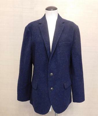 JCrew  388 Ludlow Fielding Knit Sportcoat English Wool Navy Twilight 40R  b1808 4fcdda5d1