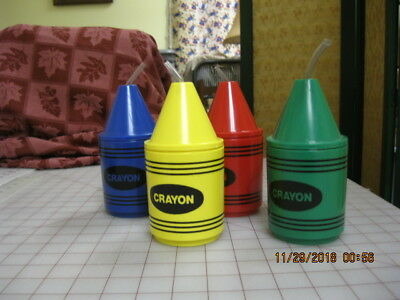 Crayon Drinking Cups