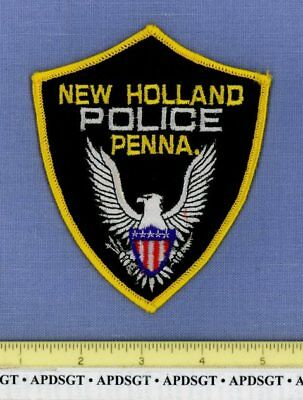 NEW HOLLAND PENNSYLVANIA Sheriff Police Patch WHITE EAGLE