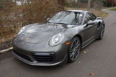 2017 Porsche 911 Turbo 2017 Turbo Used Certified 3.8L H6 24V AWD Coupe Premium Bose