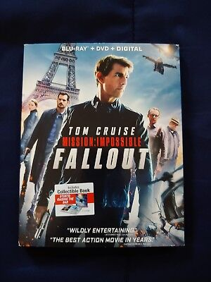 Mission Impossible: Fallout Blu Ray/DVD