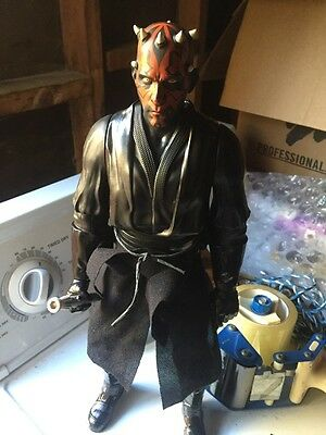 "2014  C & Lucasfilm Ltd STAR WARS The DARTH MAUL 18 "" Big Figure Nice And Rare"