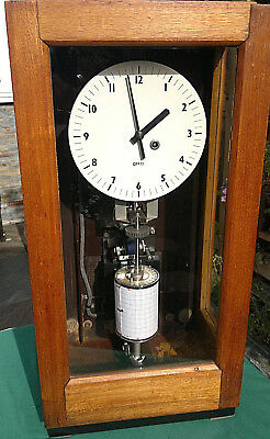 Gents of Leicester Night Watchman~Tell-Tale Clock Fully Working-NOT Electric