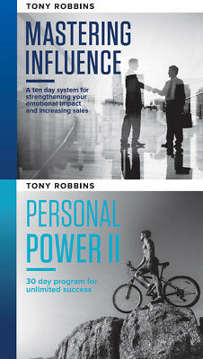 Anthony Tony Robbins Mastering Influence & Personal Power II Courses Complete