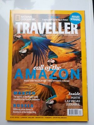 NATIONAL GEOGRAPHIC TRAVELLER MAGAZINE December 2015. CALL OF THE AMAZON