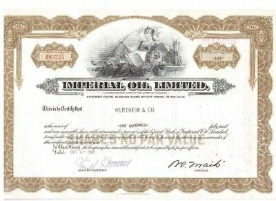 Imperial Oil Limited 1968