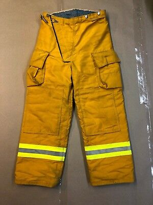 Turnout Gear Fire Dept Pants Size 38 Used Gear Halloween Costume safety gear