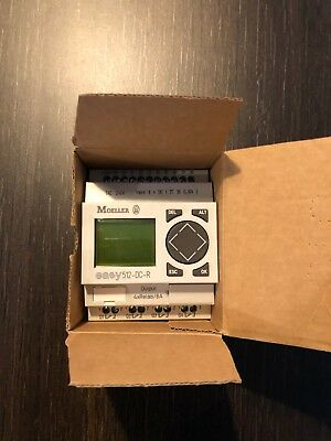 Automate programmable MOELLER EASY512-DC-R NEUF ,relais programmable,domotique