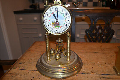 painted dial 400 day clock for restoration