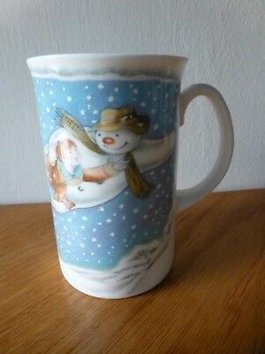 "Royal Doulton Fine Bone China Mug ""the Snowman Walking In The Air"" Made In Engla"