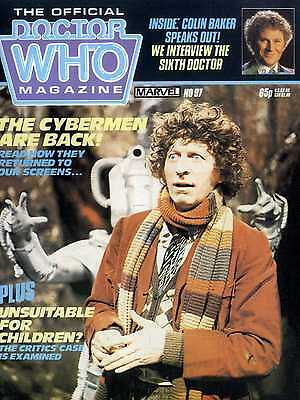 Doctor Who Magazine #97 The Cybermen Are Back!, Colin Baker Interview