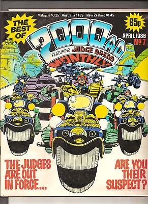 THE BEST OF 2000AD SCI-FI SPECIAL FEATURING JUDGE DREDD,MONTHLY,No.7, APRIL 1986