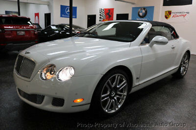 2011 Bentley Continental GT 80-11 LIMITED EDITION GTC CARFAX CERTIFIED ! NATIONWIDE SHIPPING ! FULLY LOADED. ONE OF THE KIND