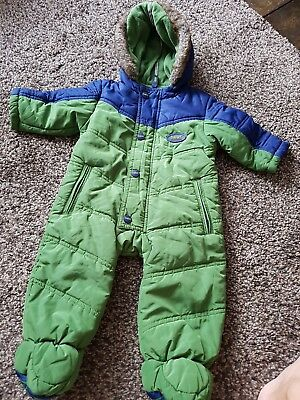 dc8019cd7 TED BAKER BABY Boy Snow Suit Age 3-6 Months - £20.00