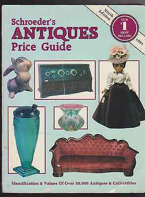 Schroeder's Antiques Pride Guide 9th Edition 1991(R1217)