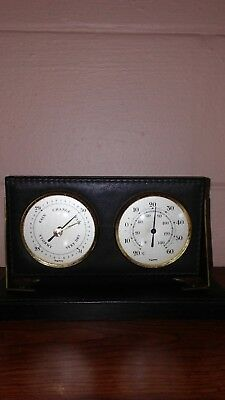 """Vintage """" Made In West Germany"""" Combo Barometer And Thermometer"""