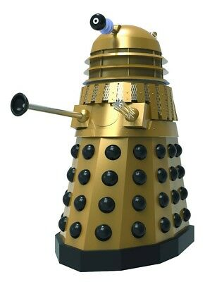 Doctor Who Day of the Daleks Gold Edition Dalek Statue