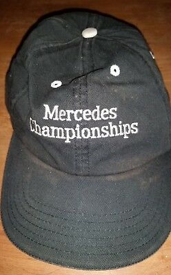 Ball Cap Hat from Estate Man Cave Collectible Mercedes Benz Championships Golf