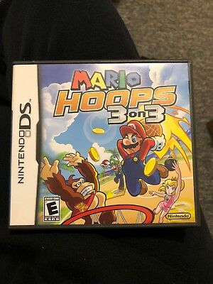 Mario Hoops 3 On 3 - Nintendo DS - Case Only