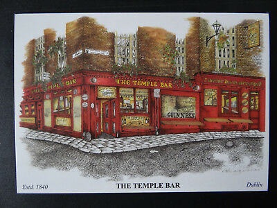 "original AK vom Lokal ""The Temple Bar"" , Dublin, Irland"