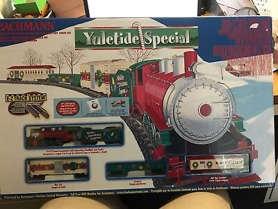 BACHMANN YULETIDE SPECIAL #00664 N Scale Electric Train Set - New In Box