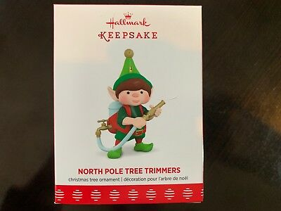 2017 Hallmark Keepsake Ornament- North Pole Tree Trimmers 5th in Series
