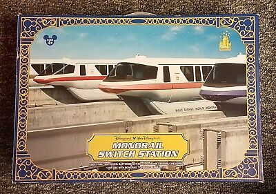 RARE Disney Themepark Monorail Switch Station Play Set NEW in Box UNUSED!!!
