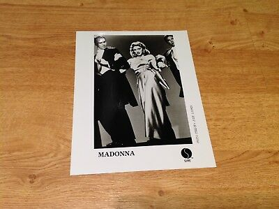 Madonna vintage Material Girl music video Sire promo photo