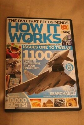 How It Works DVD E - Magazine Volume 1 Issues 1 - 12 For PC & Mac
