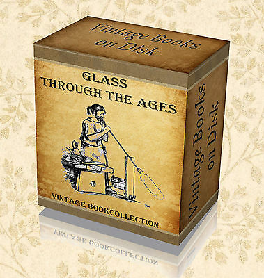 Glass Blowing - 100 Manuals on DVD - Glassware Making Instruction Books Art 34