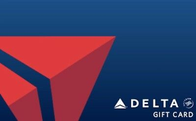 $50 Delta Airlines Gift Card Physical Card or email