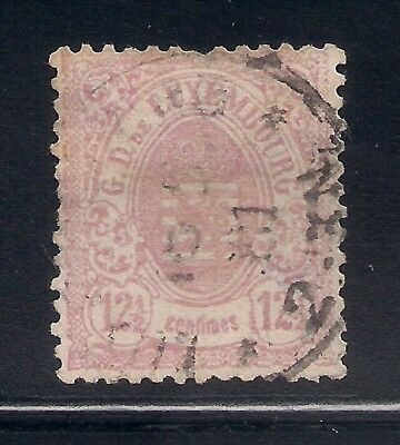 Luxembourg 1875 Sc #34 P-13 Used (42789)