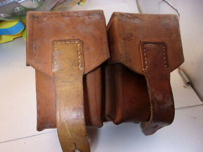 Yugoslavian M48 Mauser Type1 Pouch--Leather