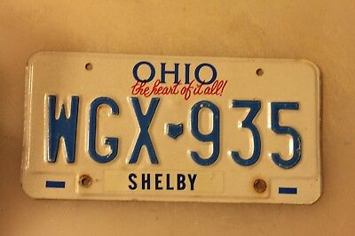 """Ohio """"The Heart of It All"""" """"Shelby County"""""""