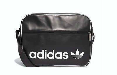 cd7c46450e New Adidas Originals Vintage Airliner Trefoil Faux Leather Shoulder Bag  #Dh1002