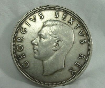 1948 South Africa 5 Shilling Silver Coin*