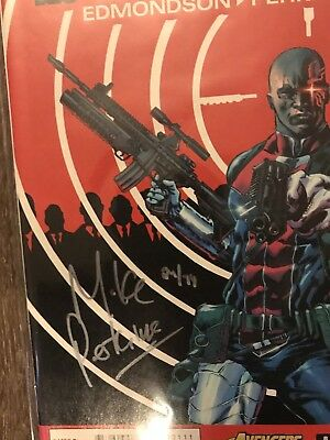 DeathLock 1 Mike Perkins Signed With Certification NM