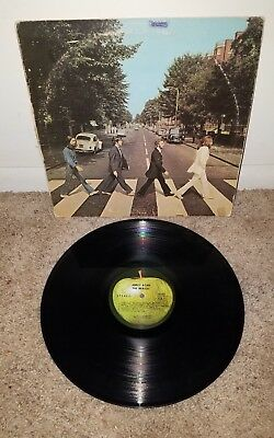 The Beatles Abbey Road Original Apple Records Record