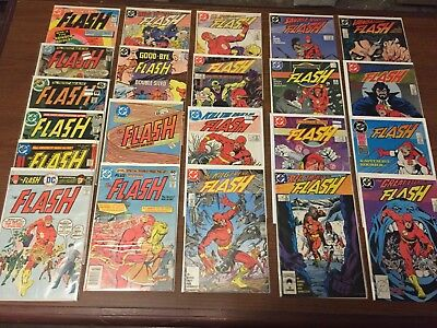 FLASH COMICS by DC Comics Bronze age Copper First and Second Series NICE! F1