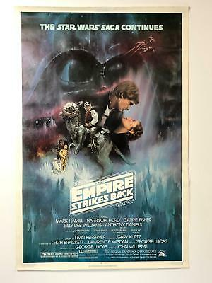 Original 1980 Star Wars The Empire Strikes Back Movie Poster