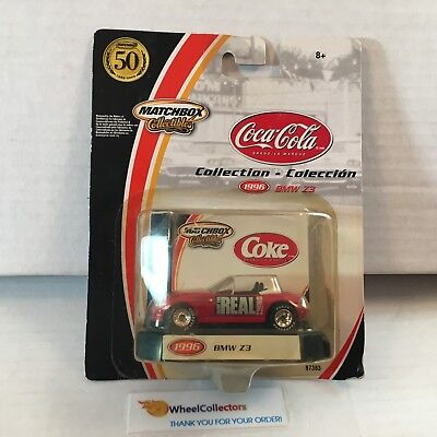 #4  BMW Z3 * Matchbox Coca-Cola Series * WA17