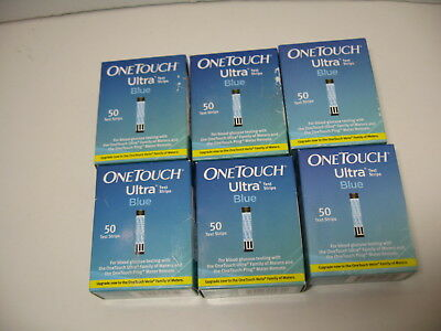 FRESH NEW SEALED OneTouch Ultra Blue Diabetic Test Strips Blood Glucose 2019 50