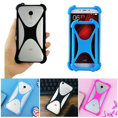 For Blu Smart Phone - Soft Protective Silicone Case Cover Skin Shockproof Bumper